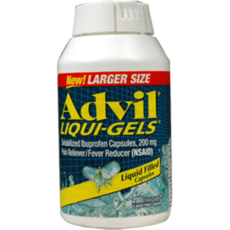 Advil 200 mg Liqui-Gels 200 ea (Paquet de 3)