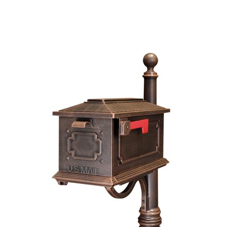 Special Lite Products Kingston Curbside Post Mount Mailbox