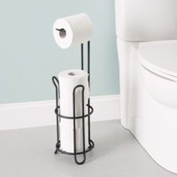 Home Basics Black Onyx Toilet Paper Holder