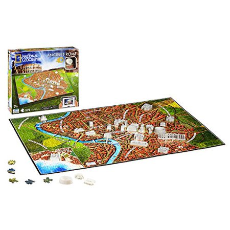 4D Cityscape Inc 4D National Geographic Ancient Rome Puzzle Puzzle - image 1 of 3