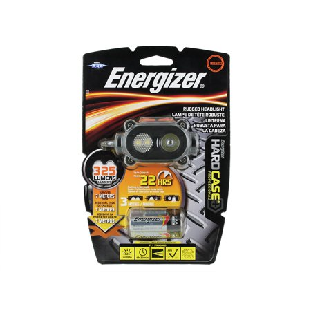 6 Pack - Energizer Hard Case Light Pro 3-LED Headlight
