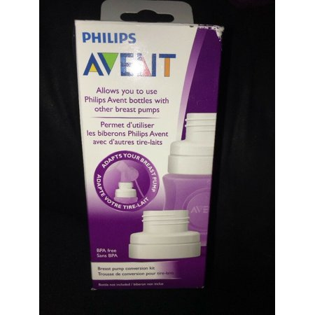 Philips Avent Breast Pump Conversion Kit 2 Piece Adaptor-NEW-SHIPS N 24