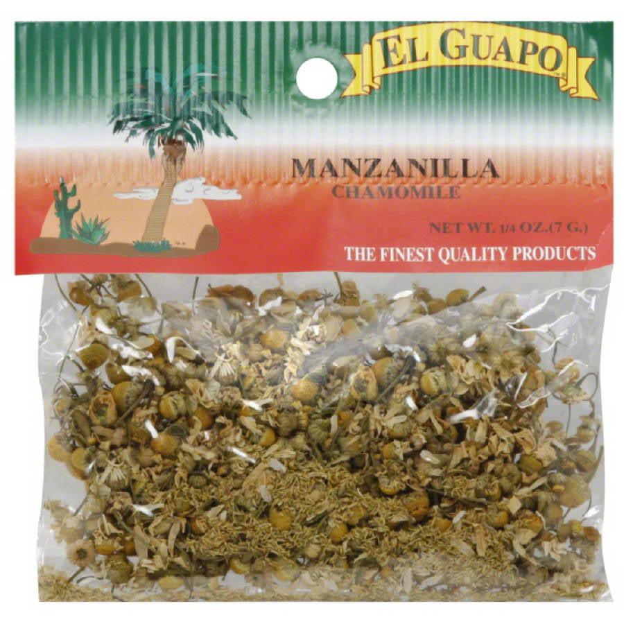 El Guapo Manzanilla Chamomile, 0.25 oz, (Pack of 12)