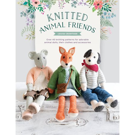 Booties Knitting Pattern (Knitted Animal Friends : Over 40 Knitting Patterns for Adorable Animal Dolls, Their Clothes and Accessories)