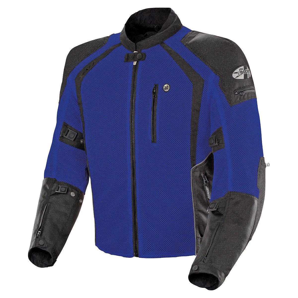Joe Rocket Phoenix Ion Mens Blue Mesh Jacket