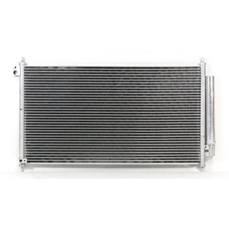 A-C Condenser - Pacific Best Inc For/Fit 4234 13-15 Acura ILX 13-15 ILX Hybrid WITH Receiver &