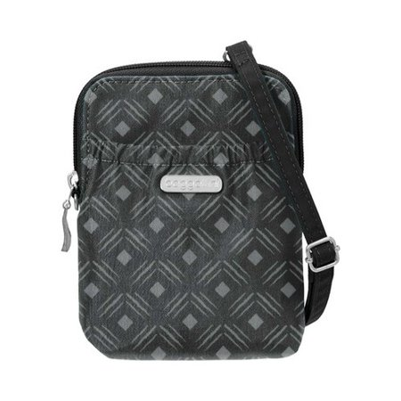 "Women's baggallini BRY757 RFID Bryant Pouch 4.75"" X 6"" X 1.25"""