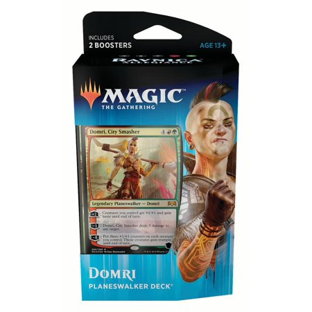 MAGIC THE GATHERING TCG: RAVNICA ALLEGIANCE PLANESWALKER DECK DOMRI WITH 2 60-CARD DECKS
