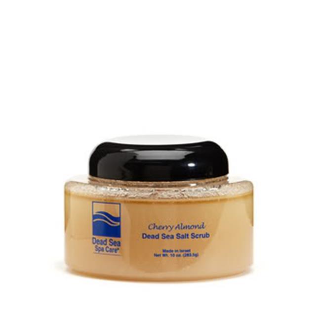 Dead Sea Spa Care DEADSEA-6 10 oz Almond Salt Scrub