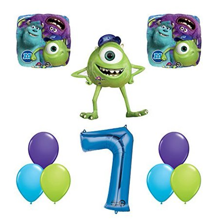 Monsters University Party Central (The Ultimate Monsters University Monsters Inc 7th Birthday Party)