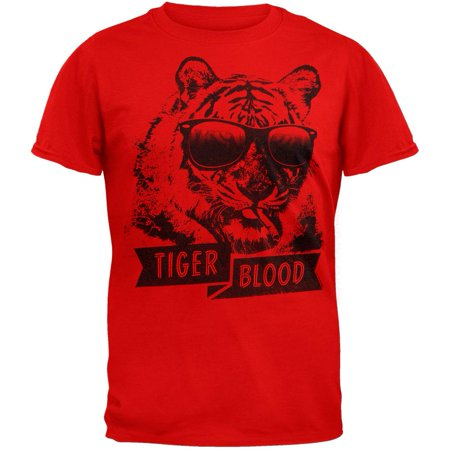Charlie Sheen - Tiger Blood - Charlie Sheen T-shirt Tiger