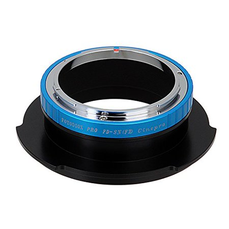 Adapter Lens Adapters - Fotodiox Pro Lens Mount Adapter, Canon FD Lens to Sony FZ Mount Camera Adapter - fits Sony PMW-F3, F5, F55 Digital Cinem