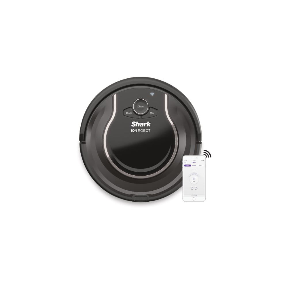 Shark ION Robot® Vacuum R75, Wi-Fi Connected, Works with Alexa, Multi-Surface Cleaning