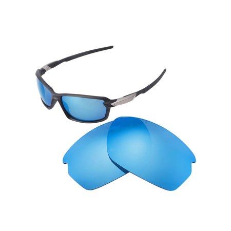 93d3115b9e Walleva - Walleva Ice Blue Polarized Replacement Lenses for Oakley Carbon  Shift Sunglasses - Walmart.com