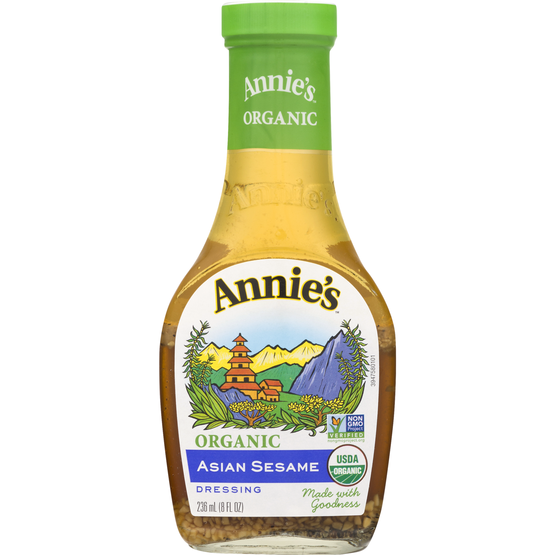 Annie\'s Organic Asian Sesame Dressing, 8 fl oz Bottle - Walmart.com
