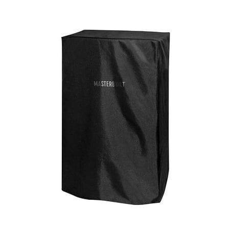 Masterbuilt 30 Inch Weather Resistant Protective Electric Smoker Cover, Black (Smoke Accessories)