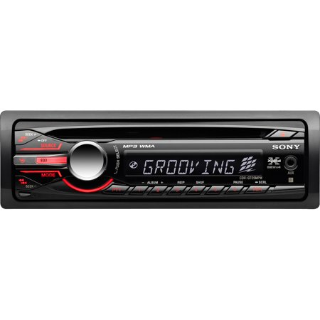 sony xplod cdxgt25mpw car cdmp3 receiver aux in walmart com sony xplod cdxgt25mpw car cdmp3 receiver aux in