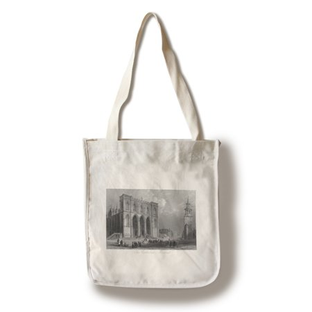 Montreal  Quebec   Exterior View Of The Cathedral  100  Cotton Tote Bag   Reusable