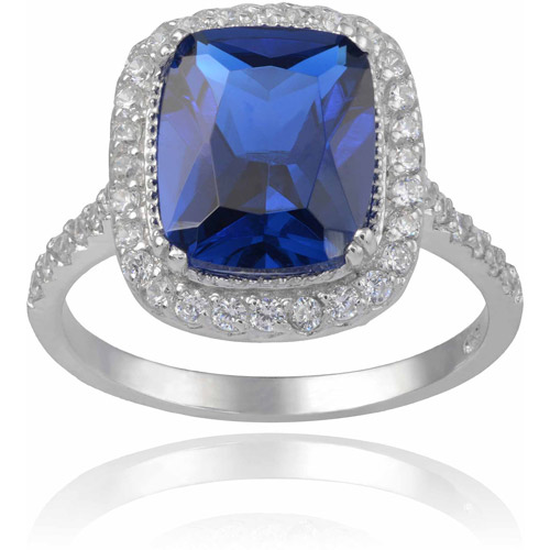 Alexandria Collection Women's CZ Sterling Silver Ring