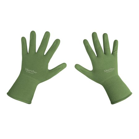 Martha Stewart MTS-GLVNP1-S Nitrile Coated Palm Breathable All-Purpose Non-Slip Grip Garden Gloves (Small) - Halloween Treats Martha Stewart