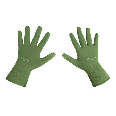 Martha Stewart MTS-GLVNP1-S Nitrile Coated Palm Breathable All-Purpose Non-Slip Grip Garden Gloves (Small) - Halloween Dishes Martha Stewart