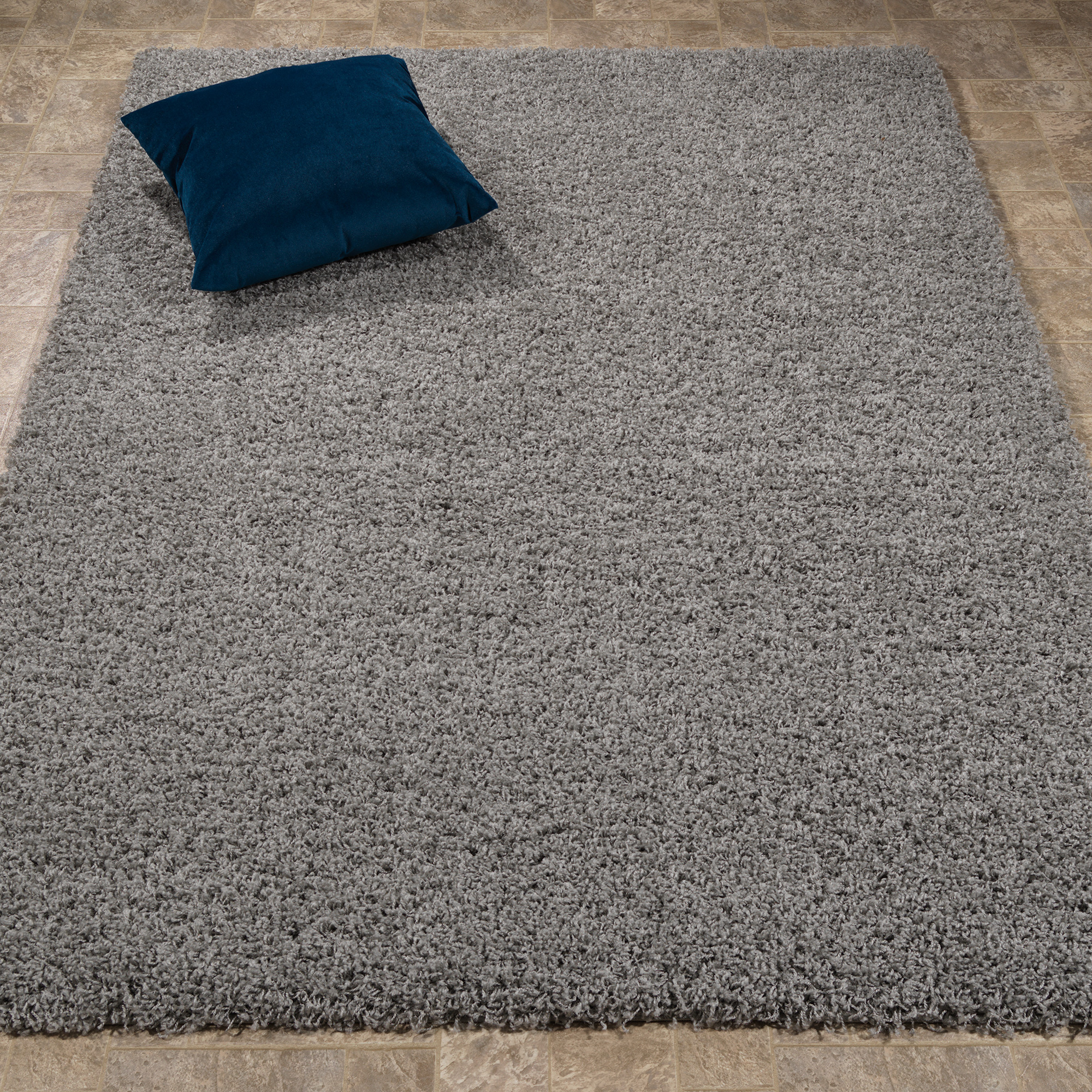 Berrnour Home Berrland Collection Solid Plush Soft Shaggy Shag Living room Area or Runner Rugs