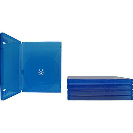 - 5 Blue PlayStation 4 Game Cases 1 Disc Capacity 14MM
