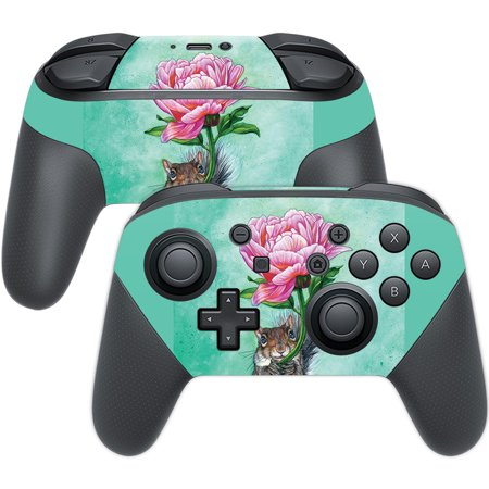 Pro Squirrel (Skin For Nintendo Switch Pro Controller - Lovely Squirrel | MightySkins Protective, Durable, and Unique Vinyl Decal wrap cover | Easy To Apply, Remove, and Change Styles | Made in the USA)