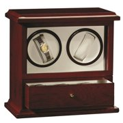Impenco Watch Winder Box - Winds 2 Holds 3 Watches