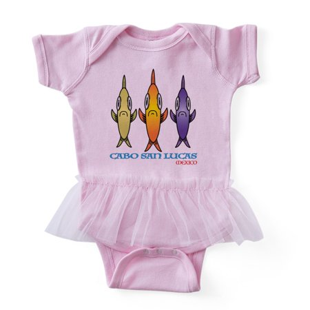 CafePress - Cabo San Lucas 3 Fishes - Cute Infant Baby Tutu