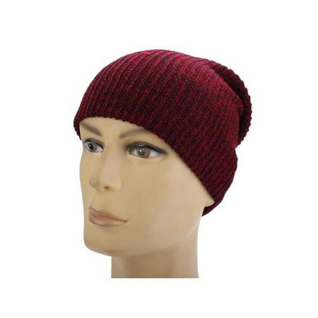 0bcb103ecf5 Knit Men s Women s Baggy Beanie Oversize Winter Hat Ski Slouchy Chic Cap  Skull - Walmart.com