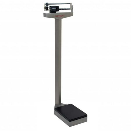 Detecto Stainless Steel Weigh Beam Scale 400 LB Capacity