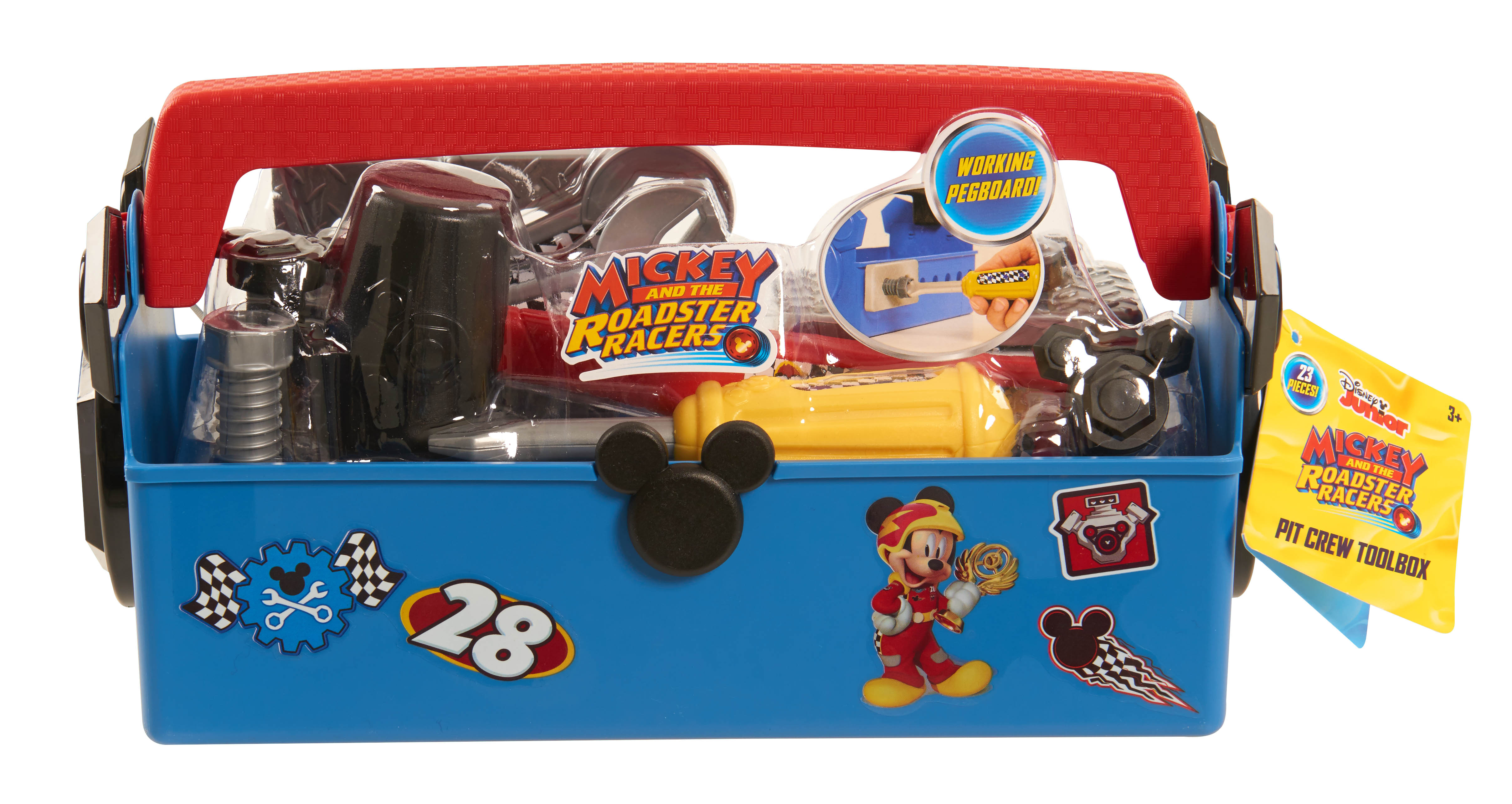 Disney - Mickey and the Roadster Racers Pit Crew Toolbox