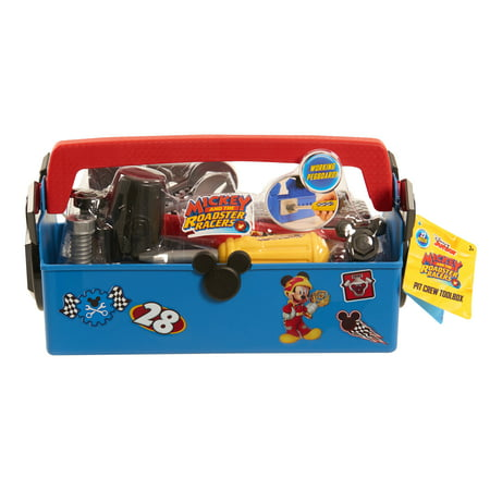 Disney - Mickey and the Roadster Racers Pit Crew Toolbox](Mickey Mouse Tool Set)