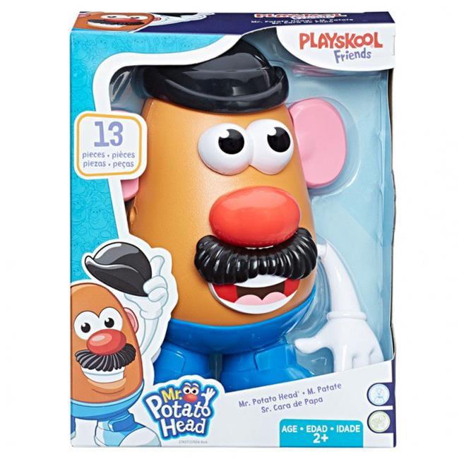 Hasbro HSB27657 MPH Mr. Potato Head Solid Toys 4 Count by Hasbro