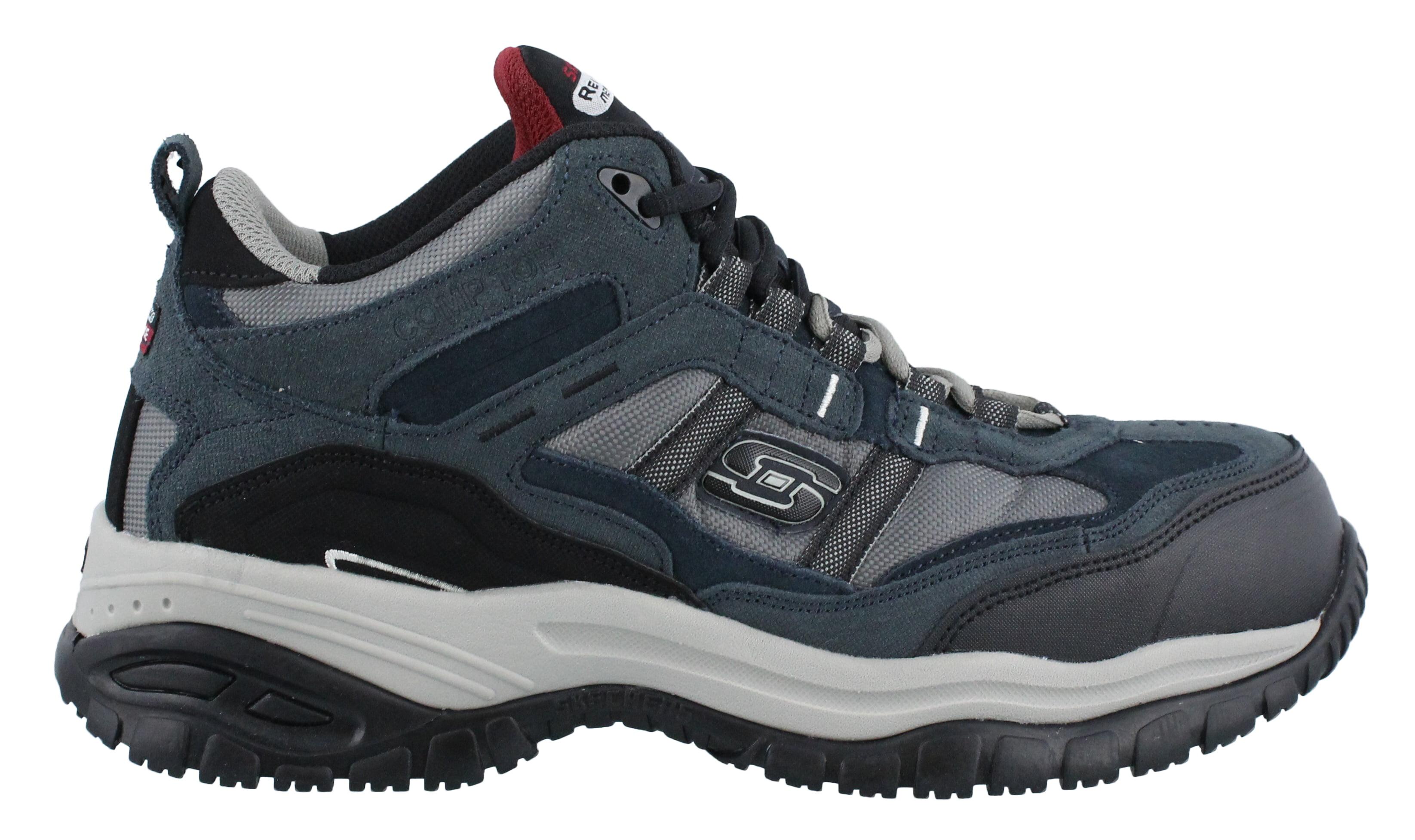 Soft Stride Work Boot, Black