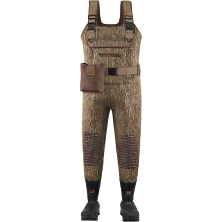 Oak Lacrosse Waders - LaCrosse Swamp Tuff Hunting Chest Wader Mossy Oak with Removable EVA Footbed For All-Terrain-Size 10