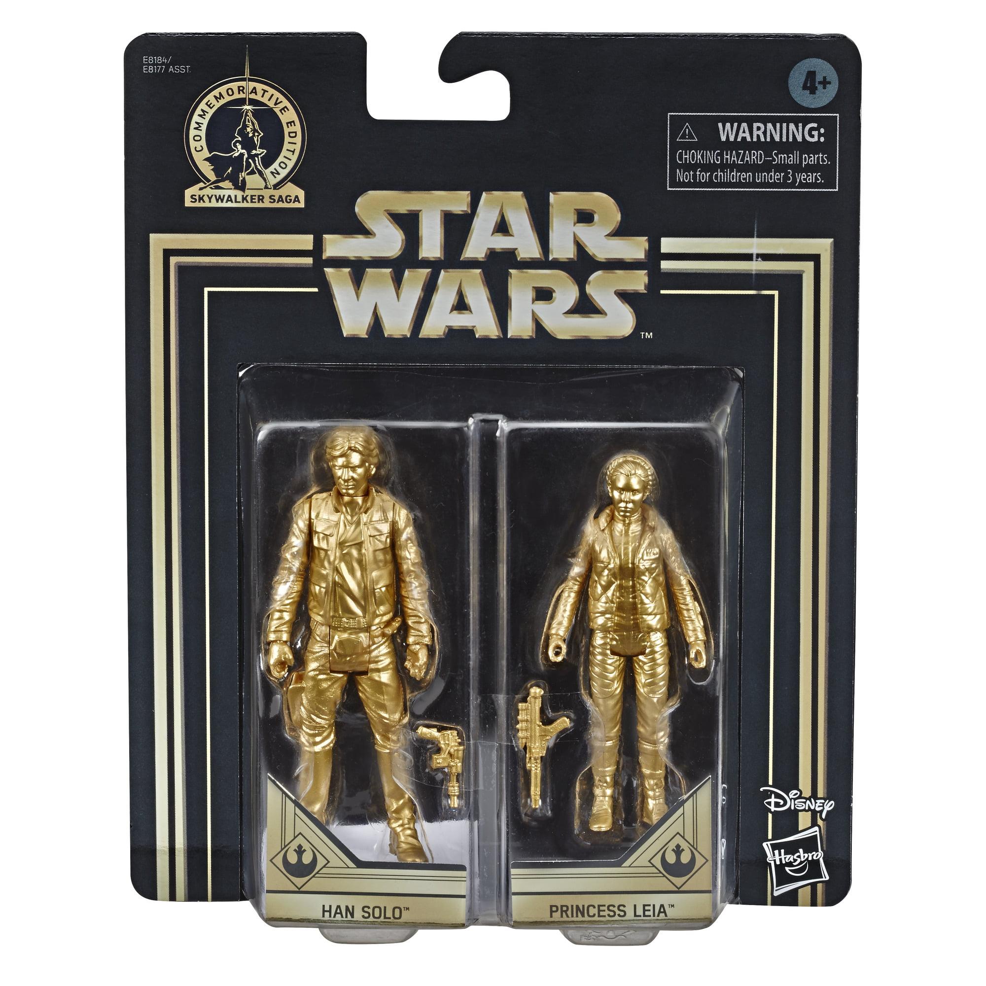 "Chewbacca Leia Kylo Ren /& Others Star Wars-Walmart Exclusive 3.75/"" Han Solo"