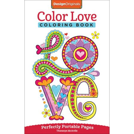 Color Love Adult Coloring Book