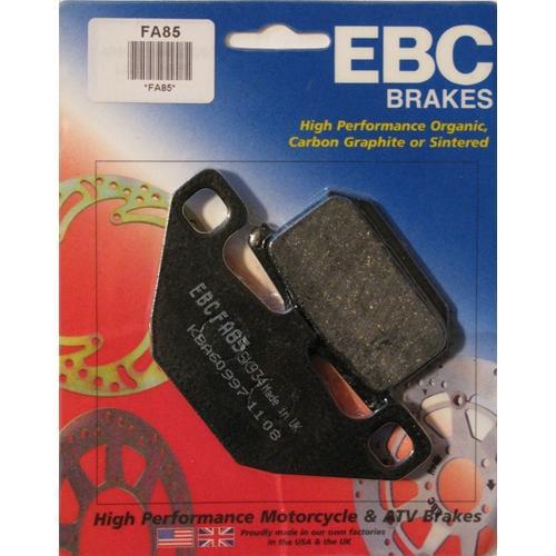 EBC Organic Brake Pads Front (2 sets required) or Rear Fits 84-86 Kawasaki Ninja 900R ZX900A