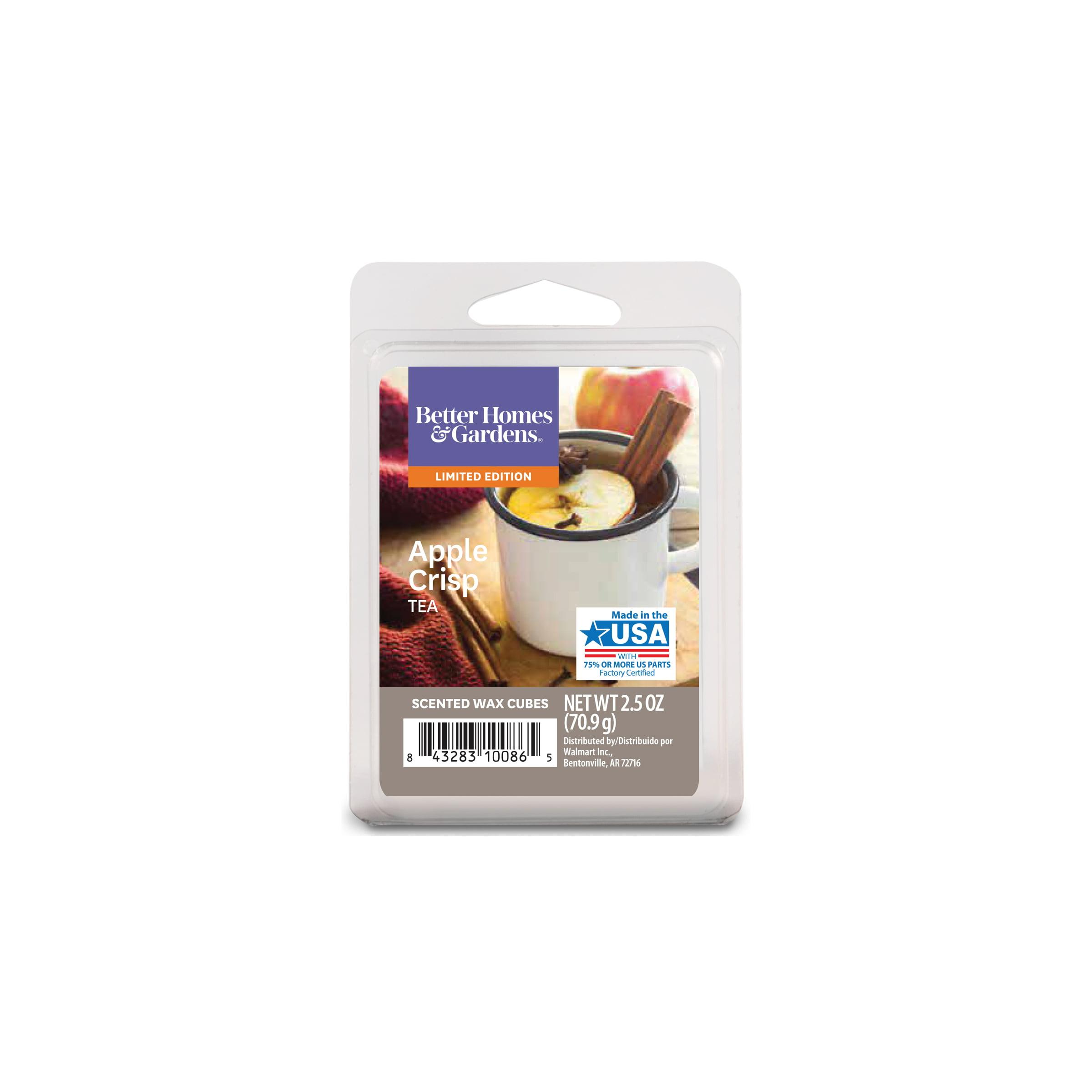 Better Homes & Gardens 2.5 oz Apple Crisp Tea Scented Wax Melts