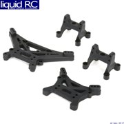 ECX 231004 Front/Rear Shock Tower Set: 1:10 4wd All