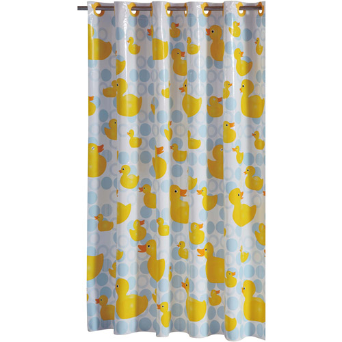 Rubber Ducky PEVA Shower Curtain