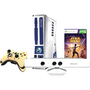 Xbox 360 Limited Edition 320GB Kinect Star Wars Bundle w/ Exclusive C-3PO unlockable for Dance Mode (Xbox 360)