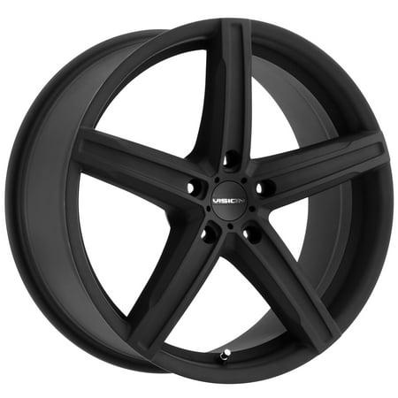 Vision Boost 17x8 5x115 38et Satin Black Wheel