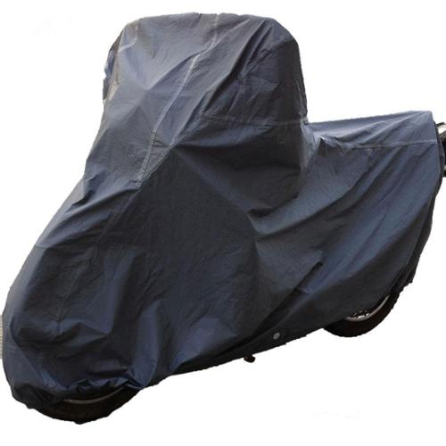 Oxgord's Ultimate HD 100-percent Waterproof Outdoor PVC Motorcycle 6-layer Cover for Sport Bikes, Cr MOTO-XL Fits vehicles up to 97 in.