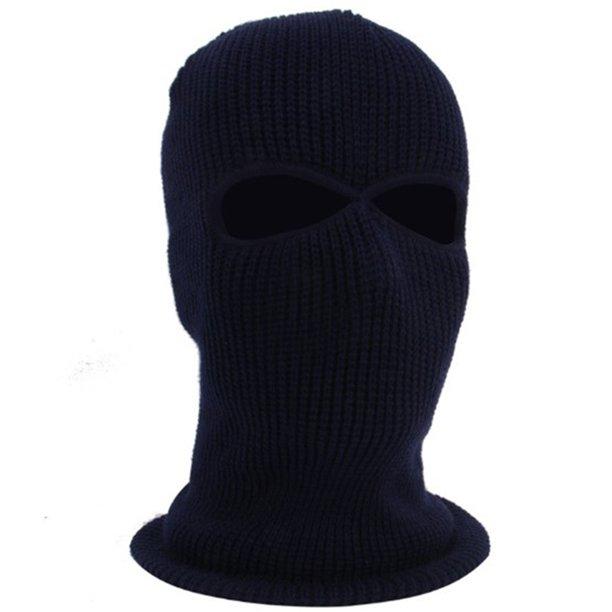 Cuh 2 Hole Ski Mask Balaclava Warm Hat Full Face Shield Beanie Cap Snow Winter Warm For Snowboard Cycling Hunting Outdoors Sports Unisex Walmart Com Walmart Com