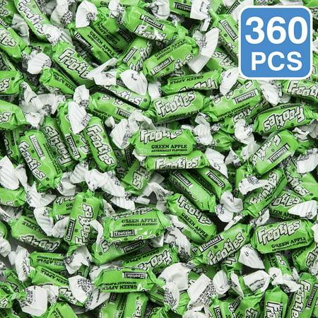 Green Apple Frooties Tootsie Rolls (360 Pieces) - Party Supplies
