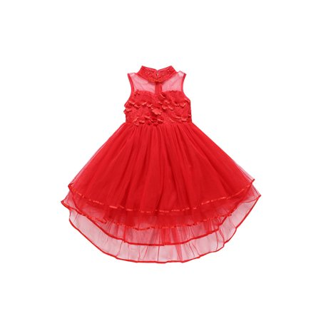 Kids Girls Fascinating Lace Cute Party Dress