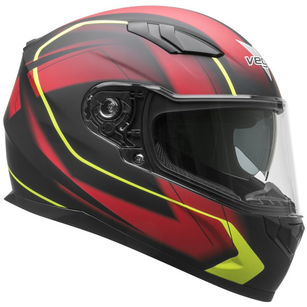 Vega RS1 Full Face Helmet with Integrated Sunshield